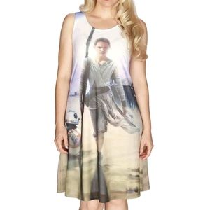 Star Wars Her Universe Dress Rey Small Lined